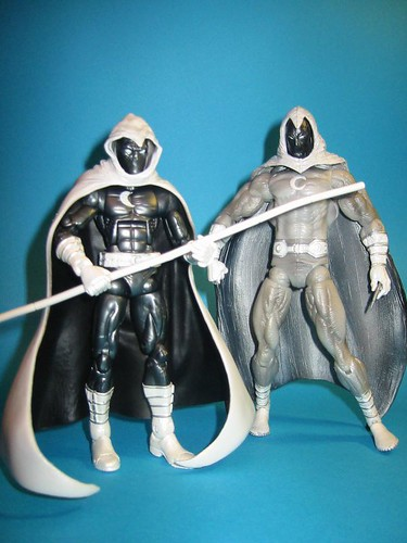 Marvel Legend and Marvel Select Moon Knight