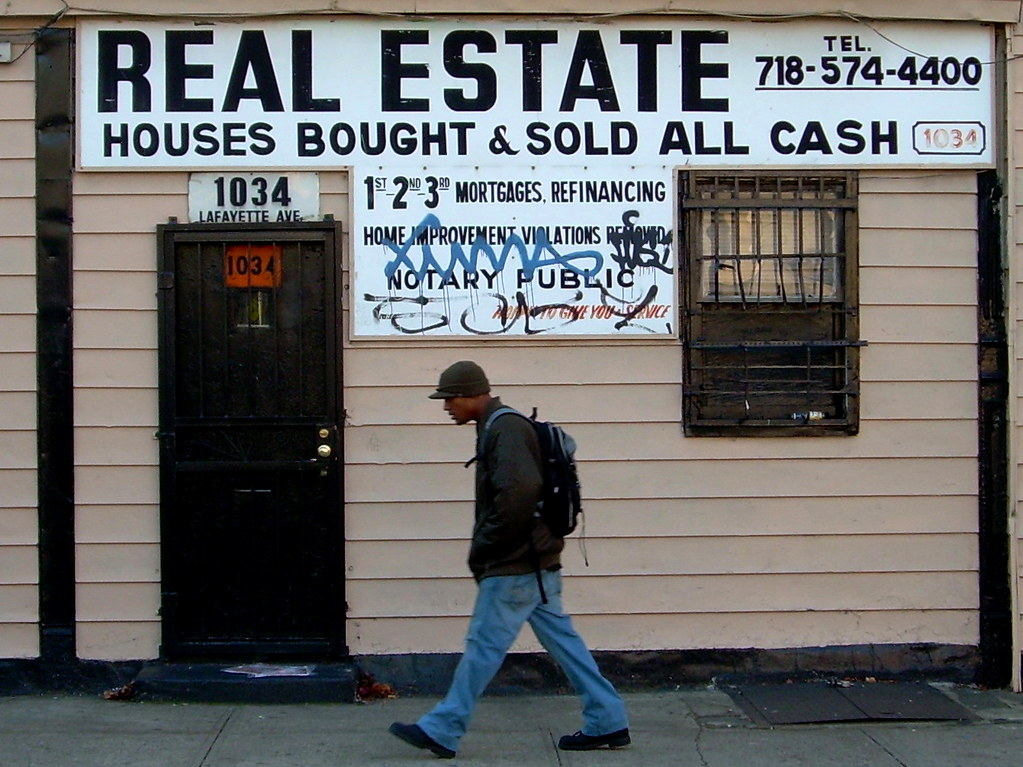 real estate, bed-stuy