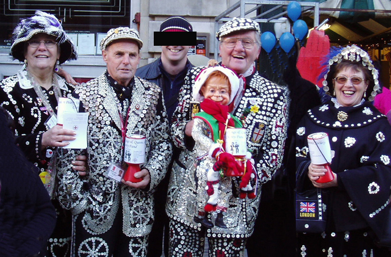 Pearly kings 'n' queens 'n' me