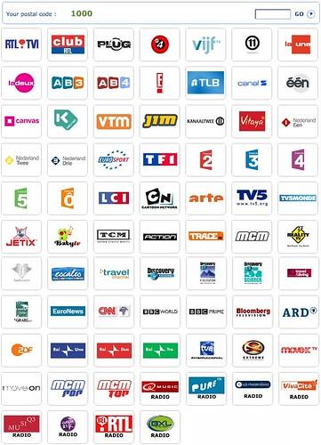 Belgacom TV: aanbod kanalen digitale televisie