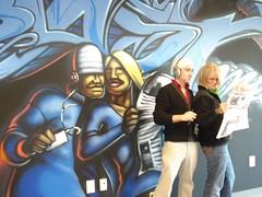 Real life Mural - Matt and Breezy
