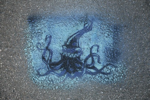 Laughing Squid Stencil
