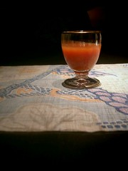 starter...ripe tomato juice
