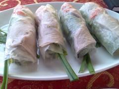 Fresh Rice Paper Rolls
