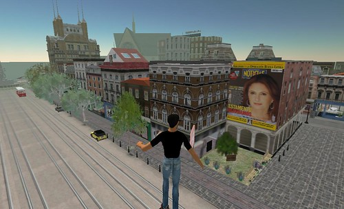 Noticias en Second Life