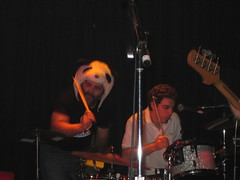 Pedro as a second drummer