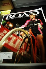 local racer on cover of ROAD Magazine
