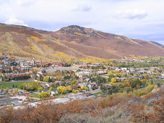 Partial view of Park City