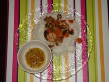 Chinese style Shrimp and Vegetables in Soya Sauce by Sudarsana Biswas