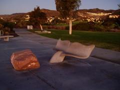 dawn at bluff park in malibu