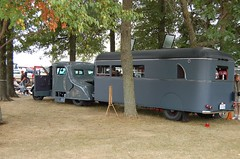 38 Intl Tow car and custom trailer photo by Corvair Owner