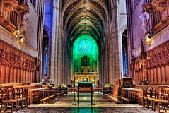 Behind the altar at Grace Cathedral photo by Jim Nix / Nomadic Pursuits