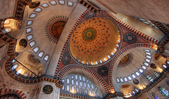Ceiling view, Mosque photo by Timothy Neesam (GumshoePhotos)