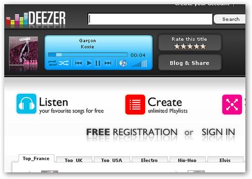deezer online music