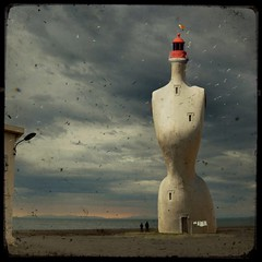 Mannequin Lighthouse by Paul Grand