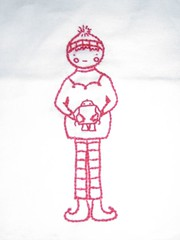 elf embroidery