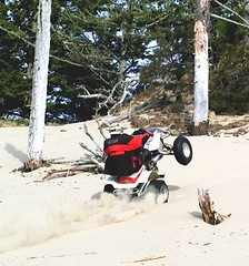Sand Duning on ATV'S