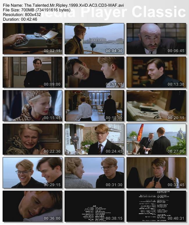 The.Talented.Mr.Ripley.1999.XviD.AC3.CD3-WAF