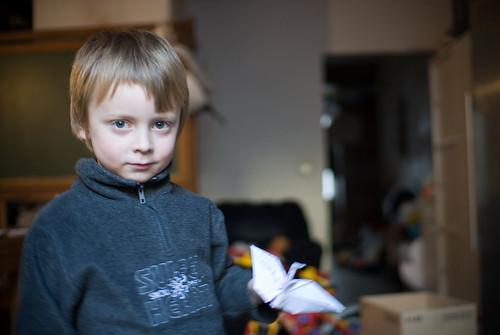 Louis met origami