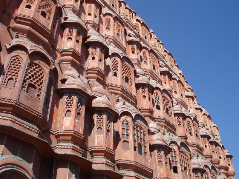 The Hawa Mahal at Jaipur - Web-site quality photo