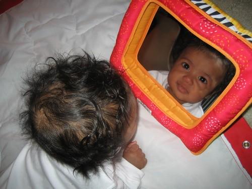lamaze mirror