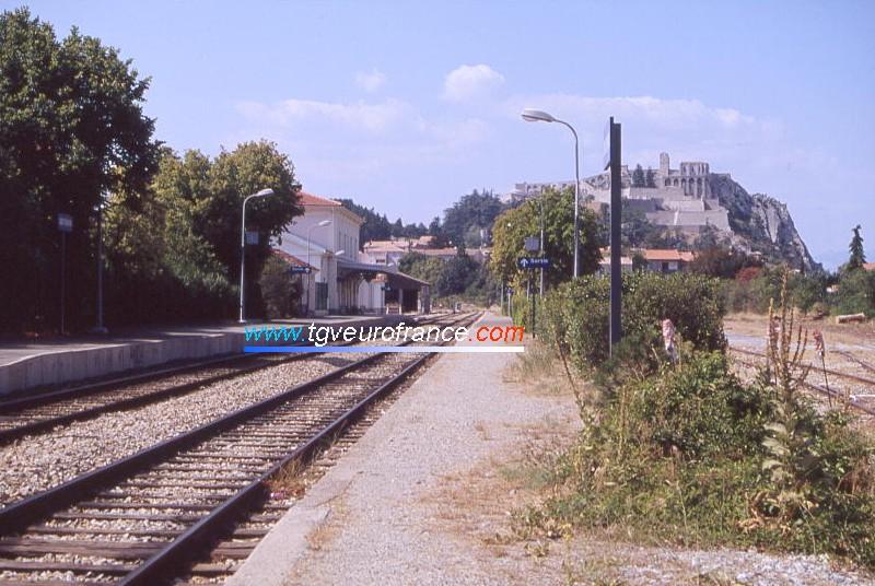 Le BV de la gare SNCF de Sisteron sur la ligne du Val de Durance