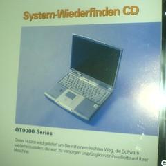 system-wiederfinden cd