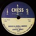 "Chess Label, ""Rock And Roll Music"""
