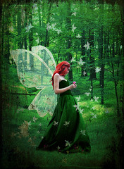 Forest fairy photo by katmary