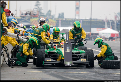 Champ Car race - Simon Pagenaud