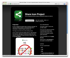 Share Icon Web Site
