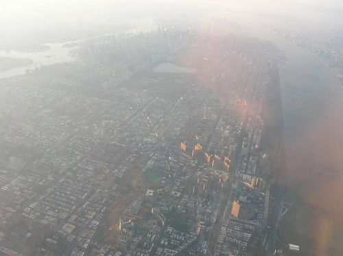manhattan from the air