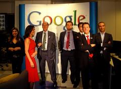 En la fiesta de Google