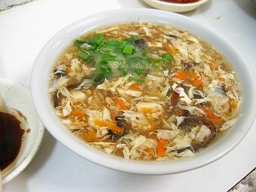 豪季水餃店-酸辣湯