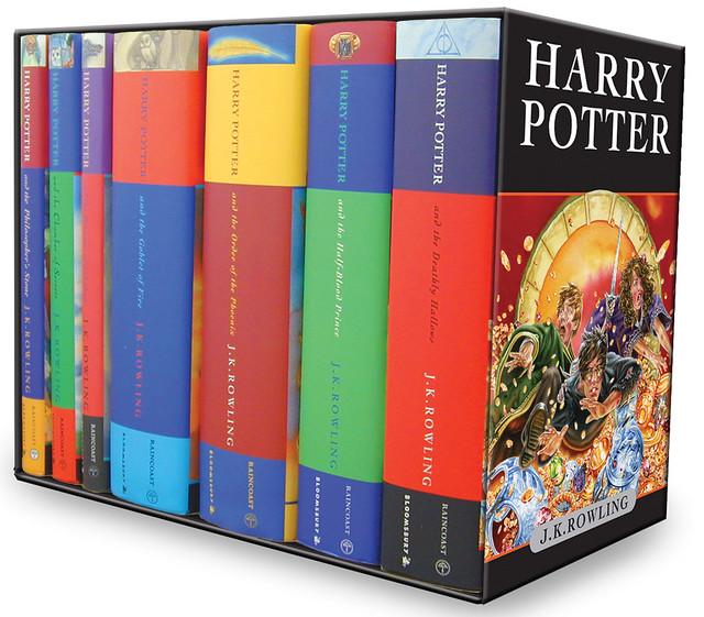 Celebrity News Harry Potter Books Box Set