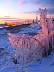 Crystalline Sunset photo by PhotoDocGVSU