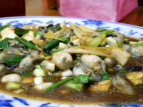 布袋觀光魚市 - 鮮蚵豆腐