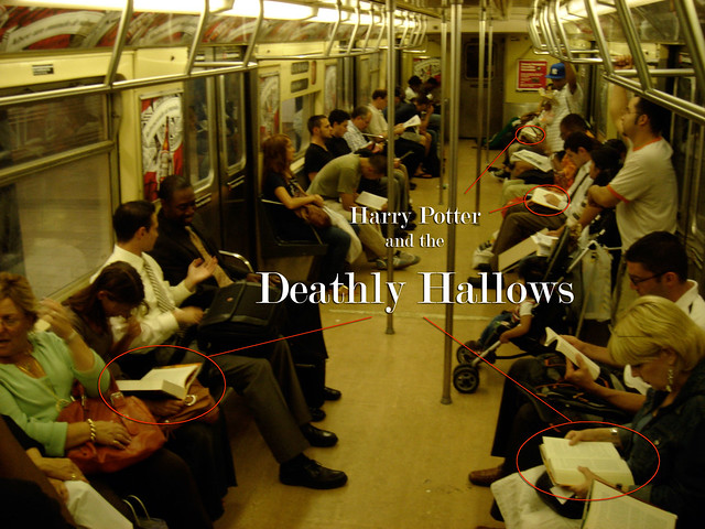 potter and the deathly hallows how many read on the train how many ...