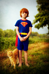 superman and his trusty sidekick photo by ~LeahP~
