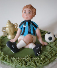Football player photo by Le dolci creazioni di Michela