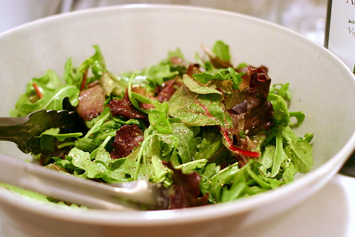 mixed greens, classic vinaigrette