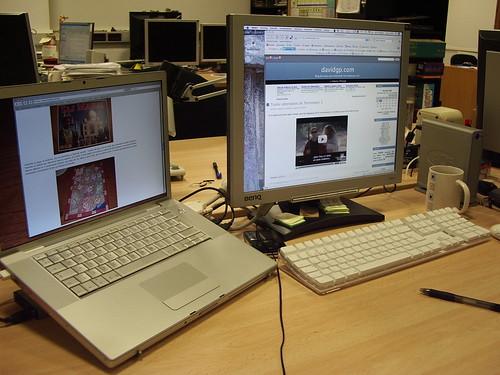 Distribución escritorio