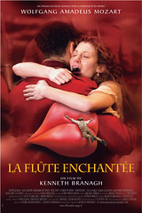Póster francés de 'La Flauta Mágica' de Kenneth Branagh