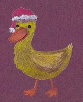 Santa Duck