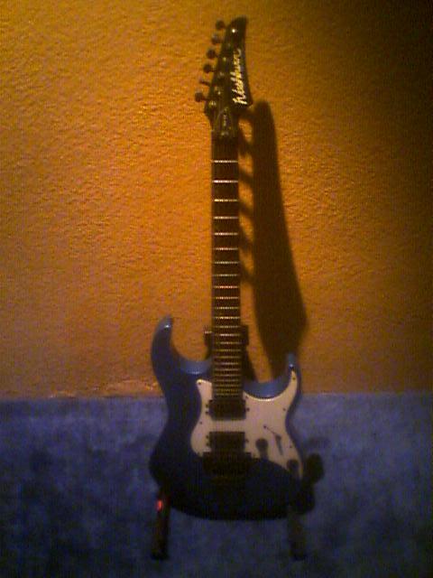 Mi nueva guitarra