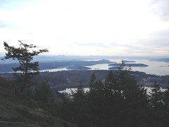 View south  from Mt. Erie