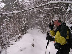 Jim capturing a view shot