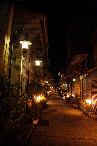 神農街夜景 (by Audiofan)