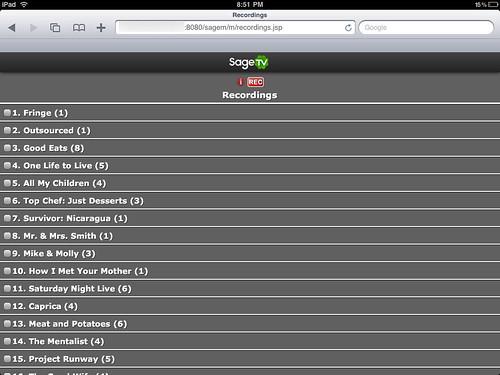 SageTV Mobile 4
