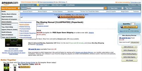 New Amazon.com Layout